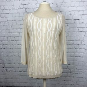 Blouse by Lafayette 148 New York, size medium